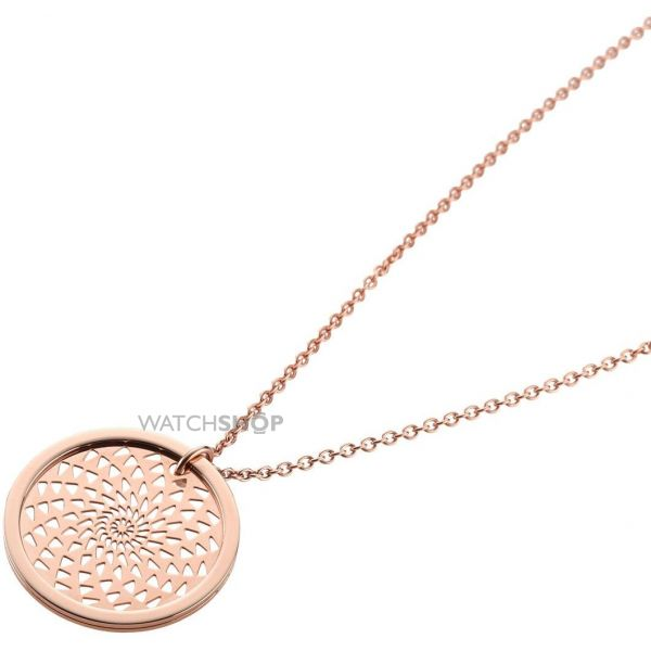 Ladies STORM PVD rose plating Denzi Necklace 9980743/RG