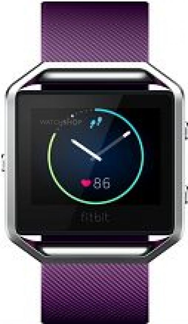 Unisex Fitbit Blaze Bluetooth Smart Fitness Chronograph Watch FB502SPMS