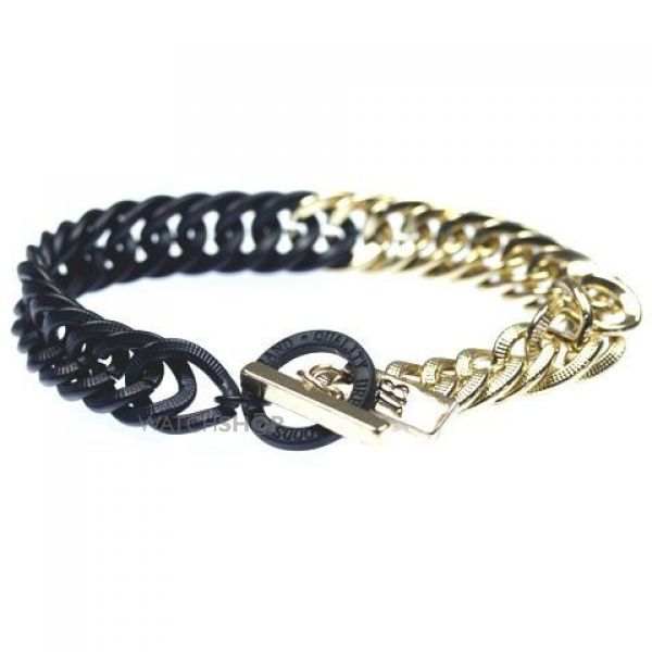Icon Brand Base metal Weatherall Bracelet P1139-BR-GLD