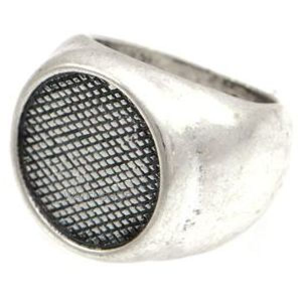 Icon Brand Base metal Grip Step Ring Size Large P1167-R-SIL-LGE