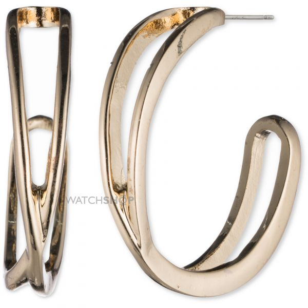 Ladies Nine West Gold Plated Earrings 60431618-887
