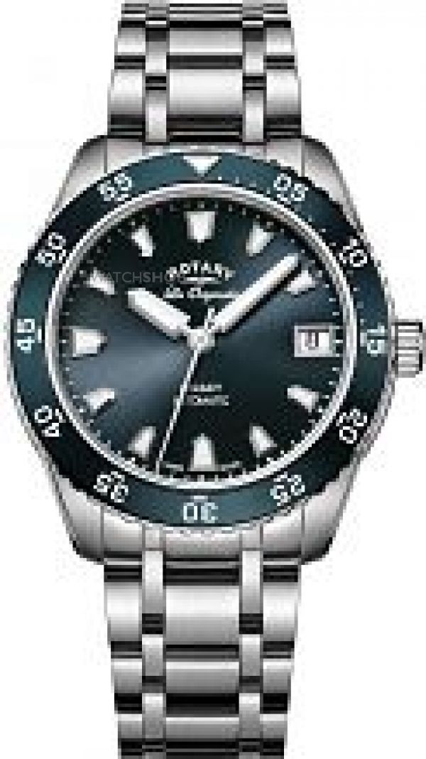Ladies Rotary Swiss Made Legacy Dive Automatic Watch LB90168/05
