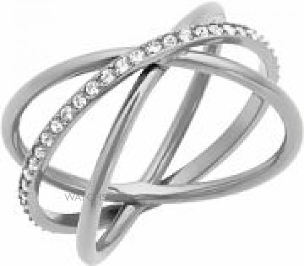 Ladies Michael Kors Stainless Steel Size M.5 Brilliance Ring MKJ5532040505