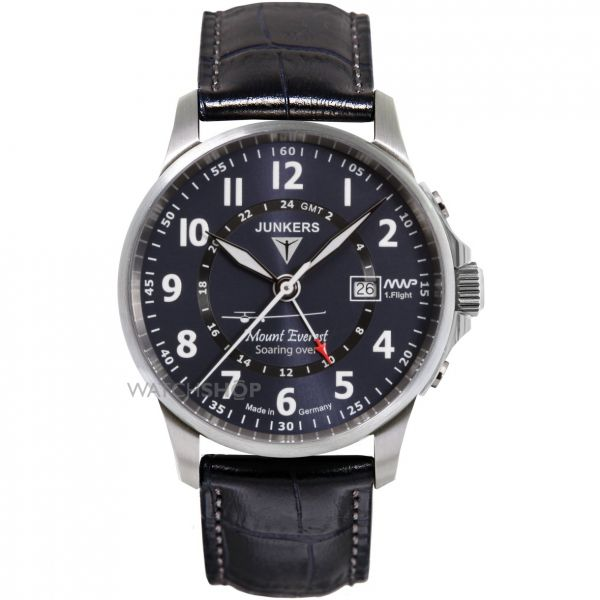 Mens Junkers Mountain Wave Project GMT Watch 6844-3