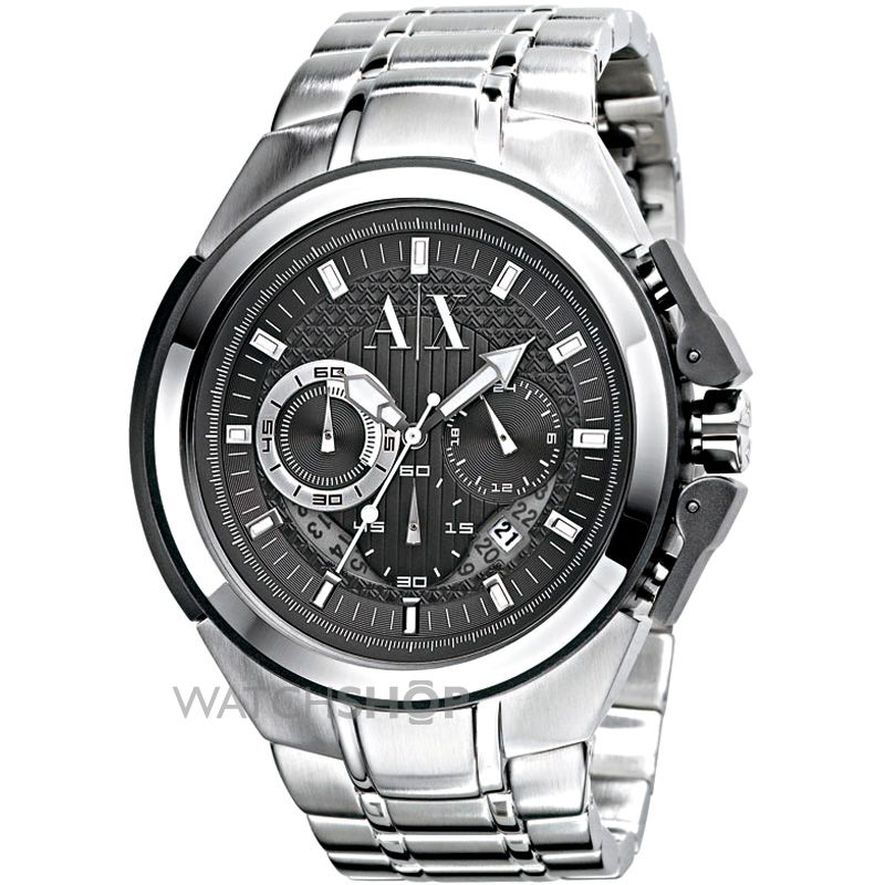 men s armani exchange street chronograph watch ax1039 watch mens armani exchange street chronograph watch ax1039