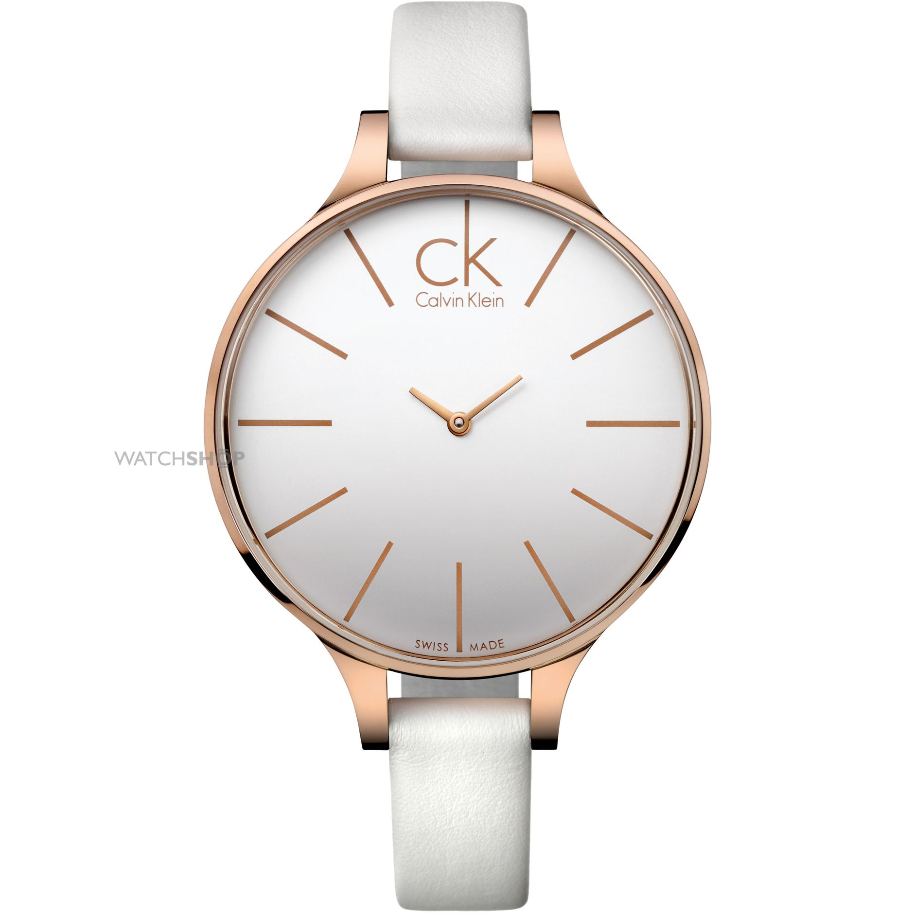 ladies 39 calvin klein glow watch k2b23601 watch. Black Bedroom Furniture Sets. Home Design Ideas