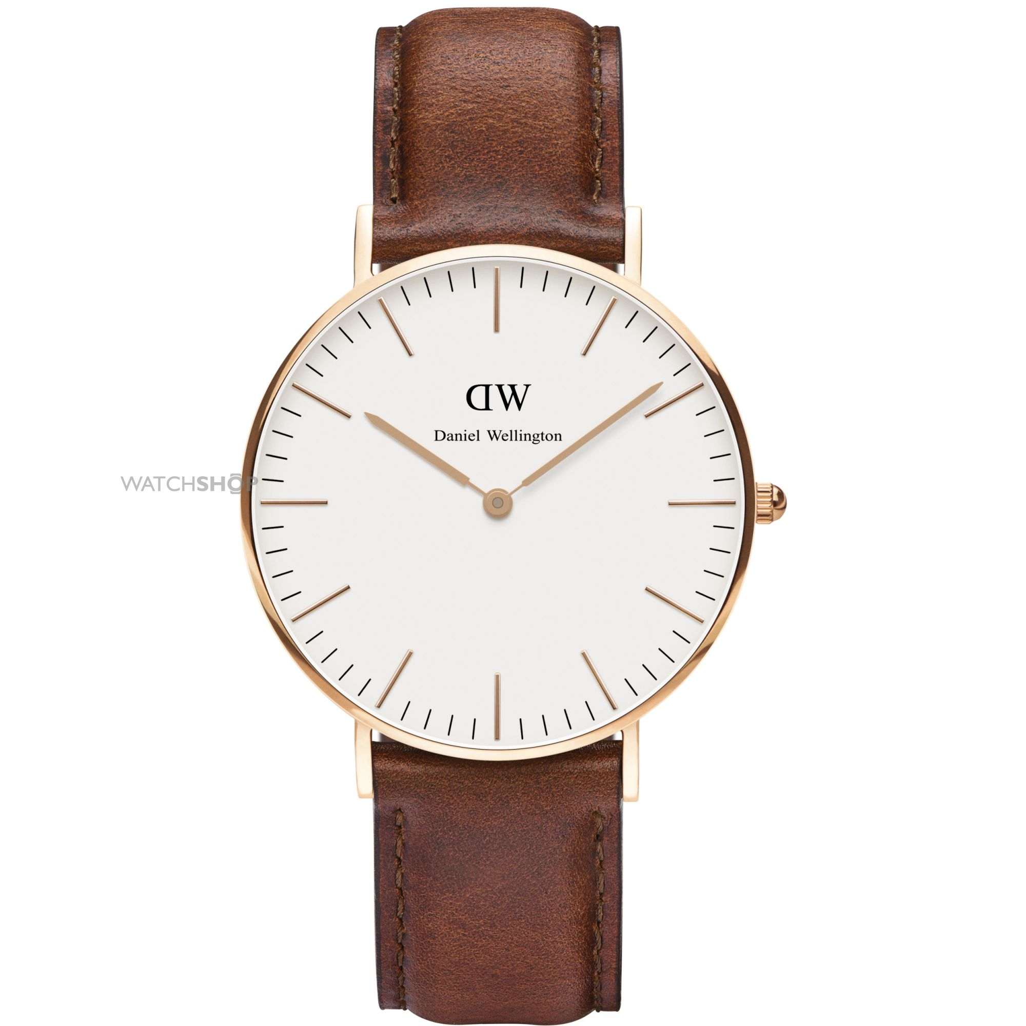 ladies 39 daniel wellington st mawes rose 36mm watch dw00100035 watch. Black Bedroom Furniture Sets. Home Design Ideas