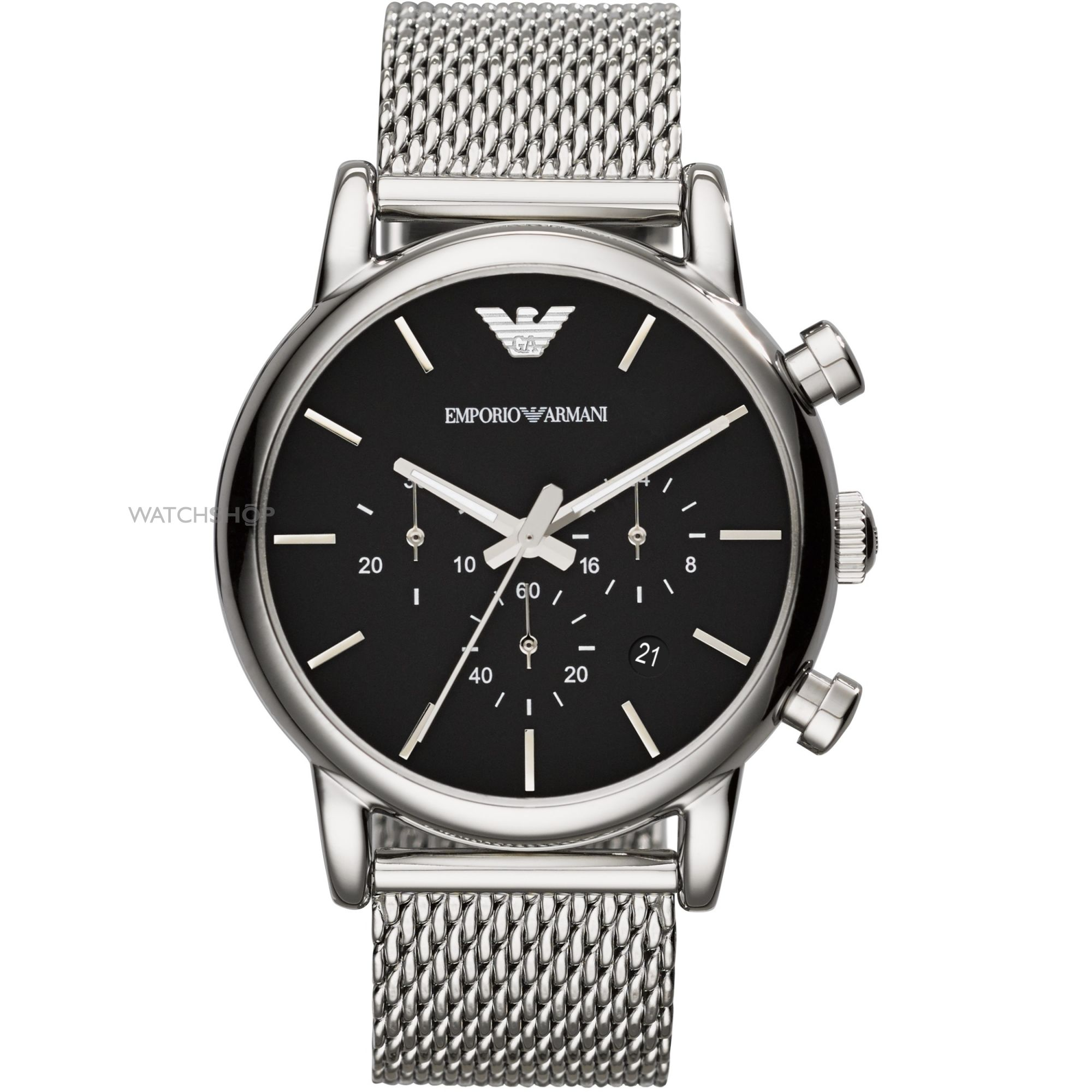 "men s emporio armani chronograph watch ar1811 watch shop comâ""¢ mens emporio armani chronograph watch ar1811"