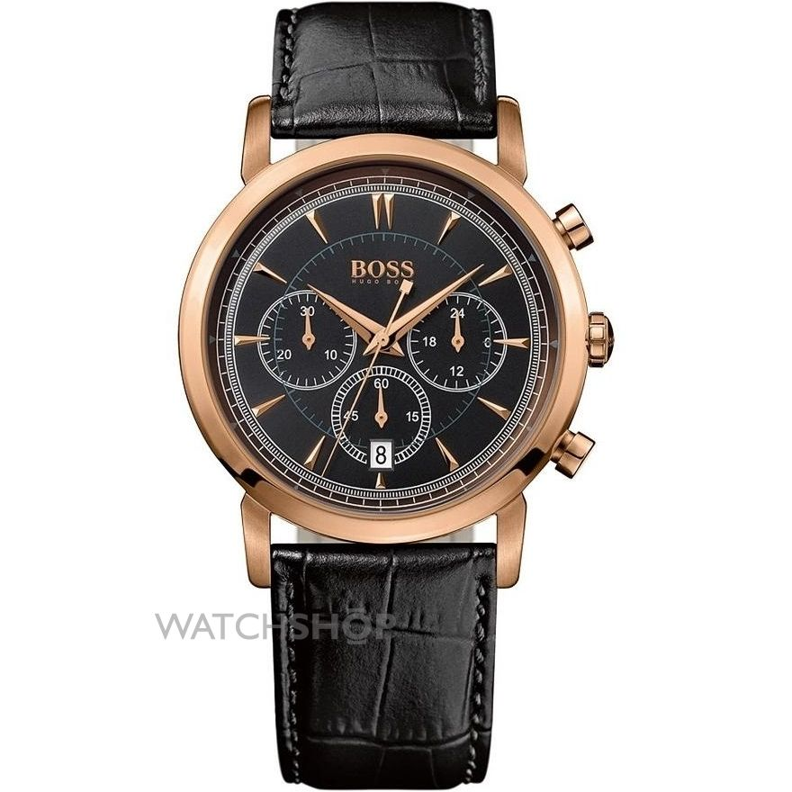 men 39 s hugo boss chronograph watch 1512781 watch. Black Bedroom Furniture Sets. Home Design Ideas