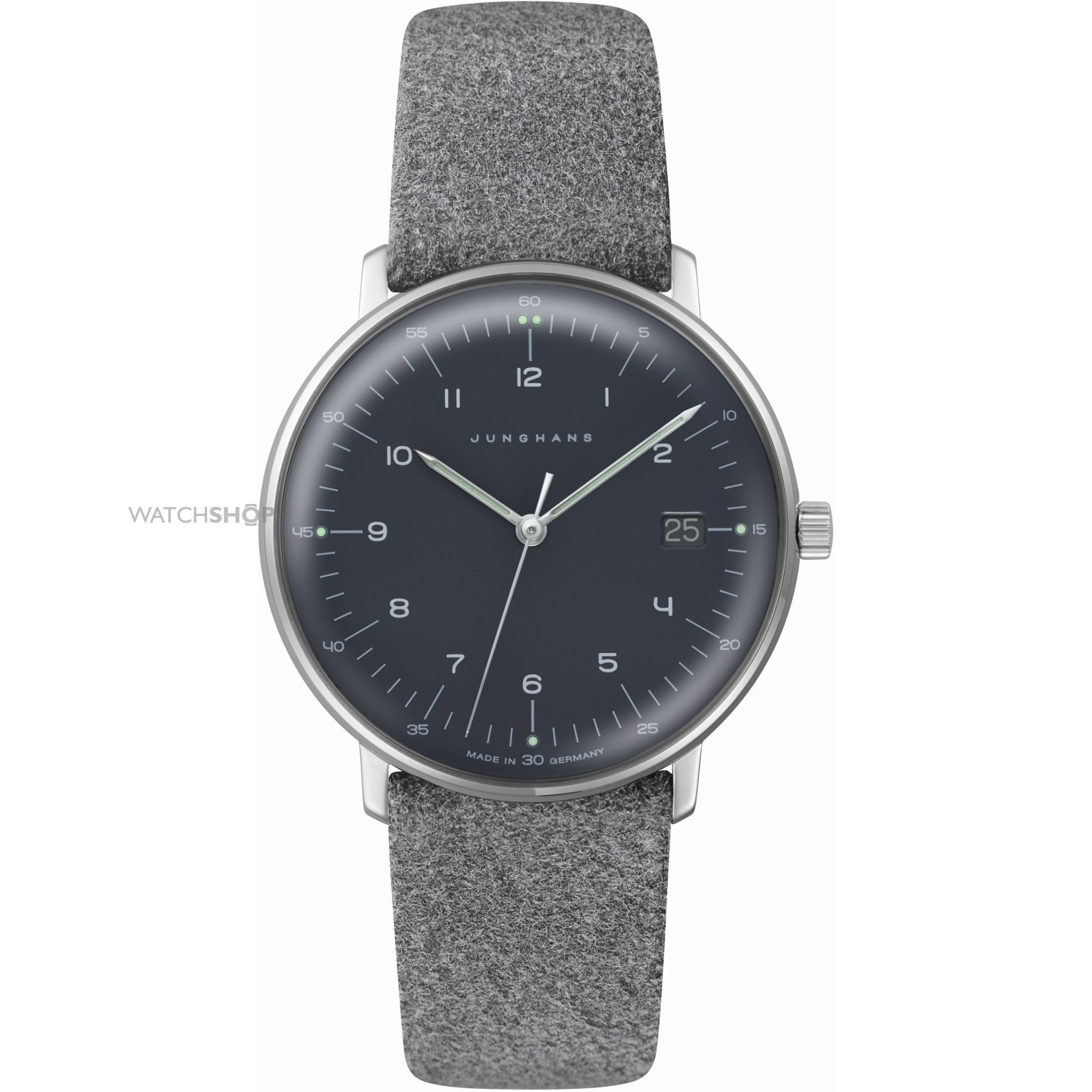 ladies 39 junghans max bill watch 047 watch shop. Black Bedroom Furniture Sets. Home Design Ideas